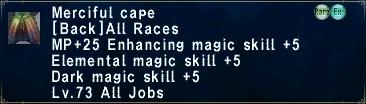 Merciful cape