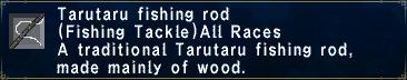 Tarutaru Fishing Rod