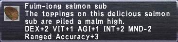 Fulm-Long Sub