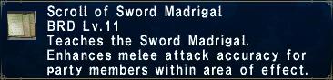 Sword Madrigal