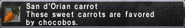 Sandy carrot