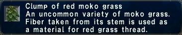 Red Moko Grass