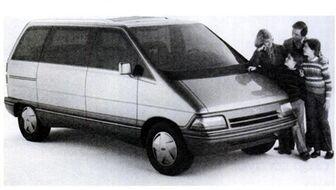 1984 Ford Aerostar Concept 01
