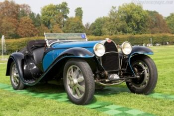Bugatti Type 55 Roadster, Chassis 55211, at the 2014 Chantilly Arts & Elegance Day, WM