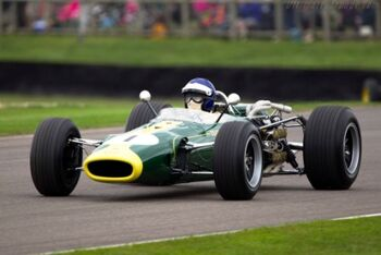 Lotus 43 - BRM Chassis 431 at the 2013 Goodwood Revival, WM