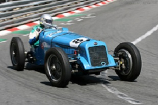 Delage 15 S8, Chassis 5 WMG-101, at the 2006 Monaco Historic Grand Prix, WM 1