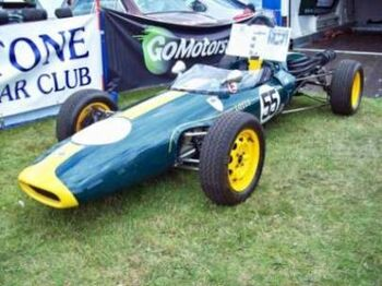 Lotus 51 Formula Ford at 2011 Cars in the Park, Beacon Park, Lichfield. RK