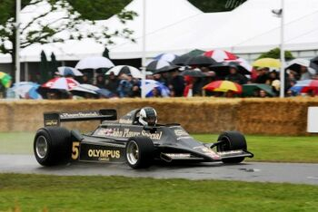 Lotus 79 - Cosworth, Chassis 793 at the 2007 Goodwood Festival of Speed. WM