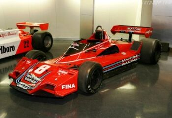 Brabham BT45 Alfa-Romeo. Chassis BT45-1 at the Museo Storico