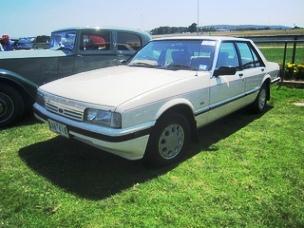 1987 Ford XF Falcon GL sedan at the 2013 Display Day, Vic. PM