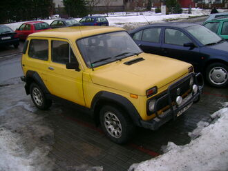 Lada Niva 4x4 (Czech Republic)