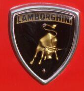 Lambo hood badge