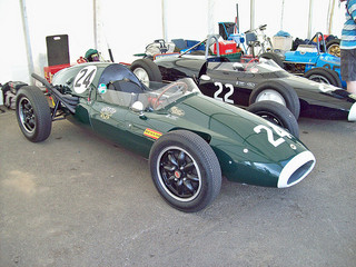 Cooper T43. 1460cc Car No. 24 at the 2010 Silverstone Classic RK