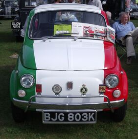Italian Fiat 500