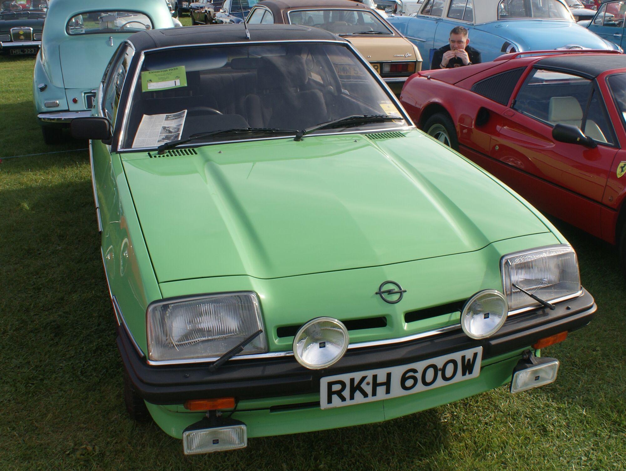 Opel Manta Classic Cars Wiki Fandom Powered By Wikia 1973 Interior