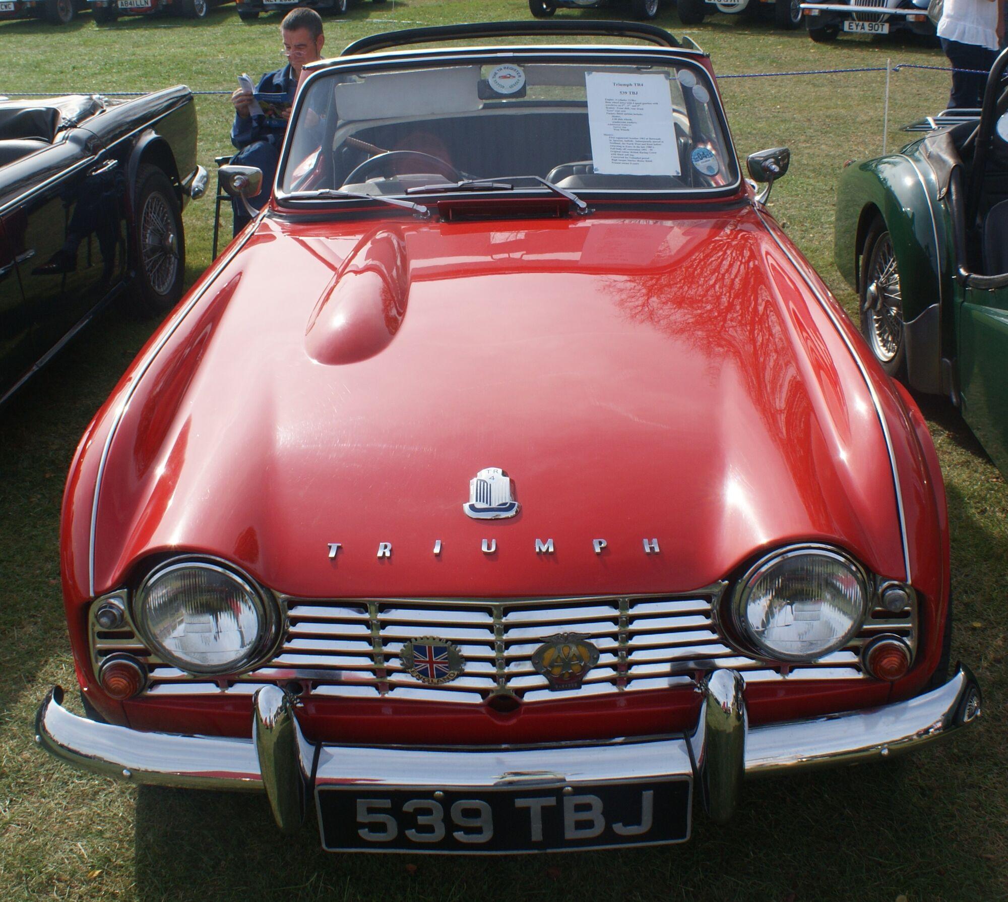 Triumph Tr4 Classic Cars Wiki Fandom Powered By Wikia