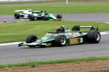 Lotus 80 - Cosworth, Chassis 801, at the 2005 Silverstone Classic, WM