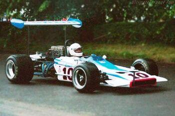 Lotus 70 - Chevrolet at the 2002 Goodwood Festival of Speed, WM