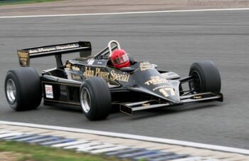 Lotus 87 - Cosworth, Chassis 873 at the 2005 Silverstone Classic. WM