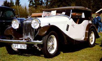 British Salmson 12 70 4-Seater Tourer 1935 by Lglswe on WIki