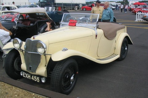 1938 Allard V8 3916cc