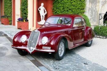Alfa Romeo 6C 2500 S Touring Berlinetta, Chassis 915033, at the 2007 Concorso d'Eleganza Villa d'Este, WM