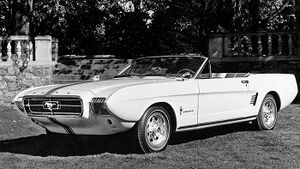 1963 Ford Mustang II concept car. Photo courtesy Ford Motor Company & Hemmings.com