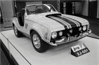1970 Jeep XJ001 Concept Vehicle 03