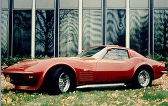 1970 Chevrolet Corvette Scirocco Show Car 01
