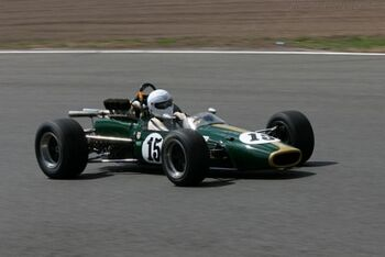 Brabham BT24 Repco Chassis BT24-1 2006 Silverstone Classic