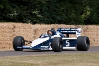 Brabham BT52 BMW. Chassis BT52-1, 2013 Goodwood Festival of Speed