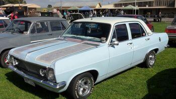 1966 HD Holden Premier Sedan