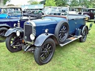 Clyno 1228 (1924-28) Engine 1496cc S4 SV RK