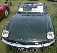 Triumph Spitfire MK3 front