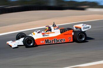 McLaren-M28-Cosworth Chassis M28-2 - 2010 Monterey Motorsports Reunion
