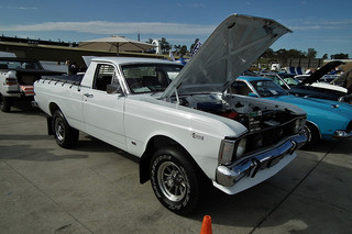 1972 Ford XY Falcon 4WD utility at the 2011 NSW All Ford Day, Eastern Creek Raceway, Sydney. PM