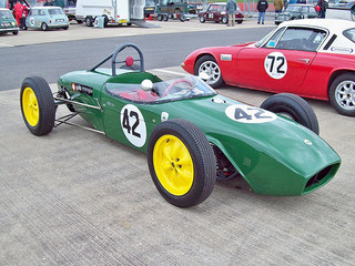 Lotus 18 Formula Junior (1960) Engine 1100 cc, at the 2010 HSCC Meeting Silverstone. RK