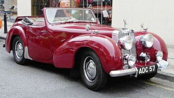 Triumph 1800 Roadster, by Malcolma in 2006 at Macclesfield, UK. Wiki