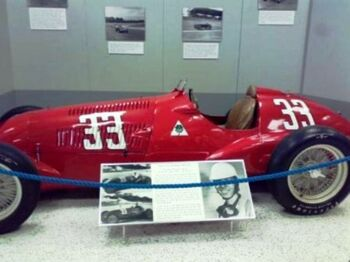 Johnny Mauro's Alfa Romeo 308 at the Indianapolis Motor Speedway Hall of Fame Museum. by Francesco Raiola from Bochum, Germany on wiki
