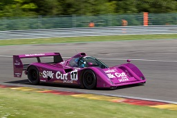 Jaguar XJR-14 Chassis 591, at the 2015 Spa Classic, WM