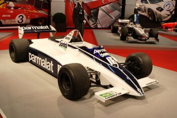 Brabham BT49D Cosworth, Chassis BT49D18, at the 2007 Essen Motor Show, WM