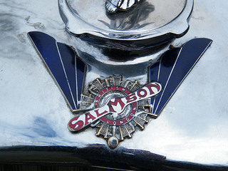 1936 British Salmson Radiator badge