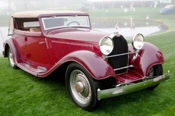 Bugatti Type 46S, Reinboldt and Christie Cabriolet, WM