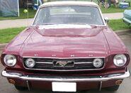 Purple gen1 Mustang