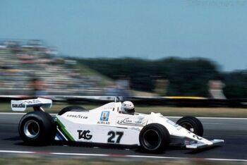 Williams FW07, Cosworth, at Williams F1, WM