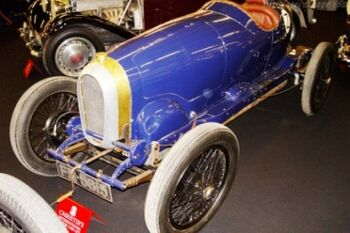 Bugatti Type 29-30, Chassis 4004, at the 2004 Retromobile, WM
