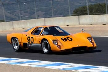 McLaren M6GT Chevrolet, Chassis 50-17 at the 2007 Monterey Historic Automobile Races, WM