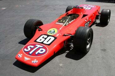 Lotus 56 Pratt and Whitney, Chassis 561, at the 2007 Monterey Historic Automobile Races, WM