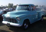 Sky blue pickup