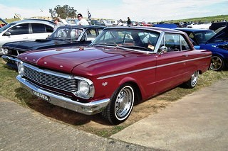 1965 Ford XP Falcon Deluxe hardtop. at the 2011 NSW All Ford Day, at Eastern Creek Raceway. PM